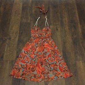 Anthro Moulinette Soeurs floral halter dress